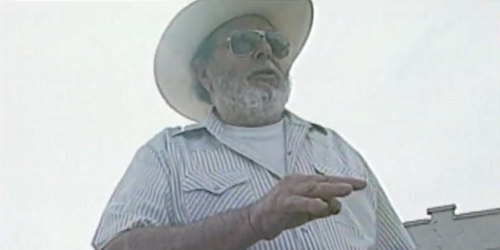 Serafim Meneghel foi presidente do União Bandeirante — Foto: Arquivo/RPC