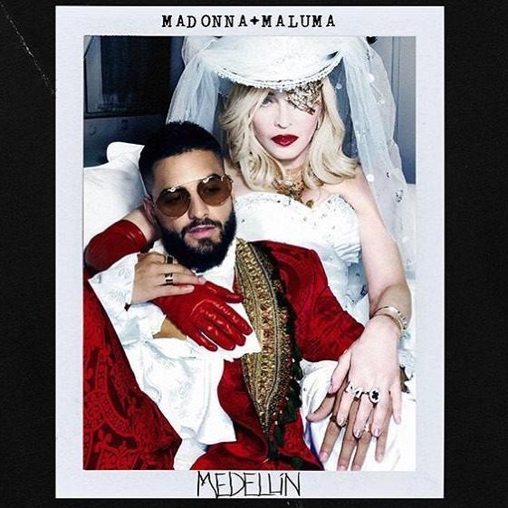 Madonna e Maluma (Foto: reprodução/instagram)