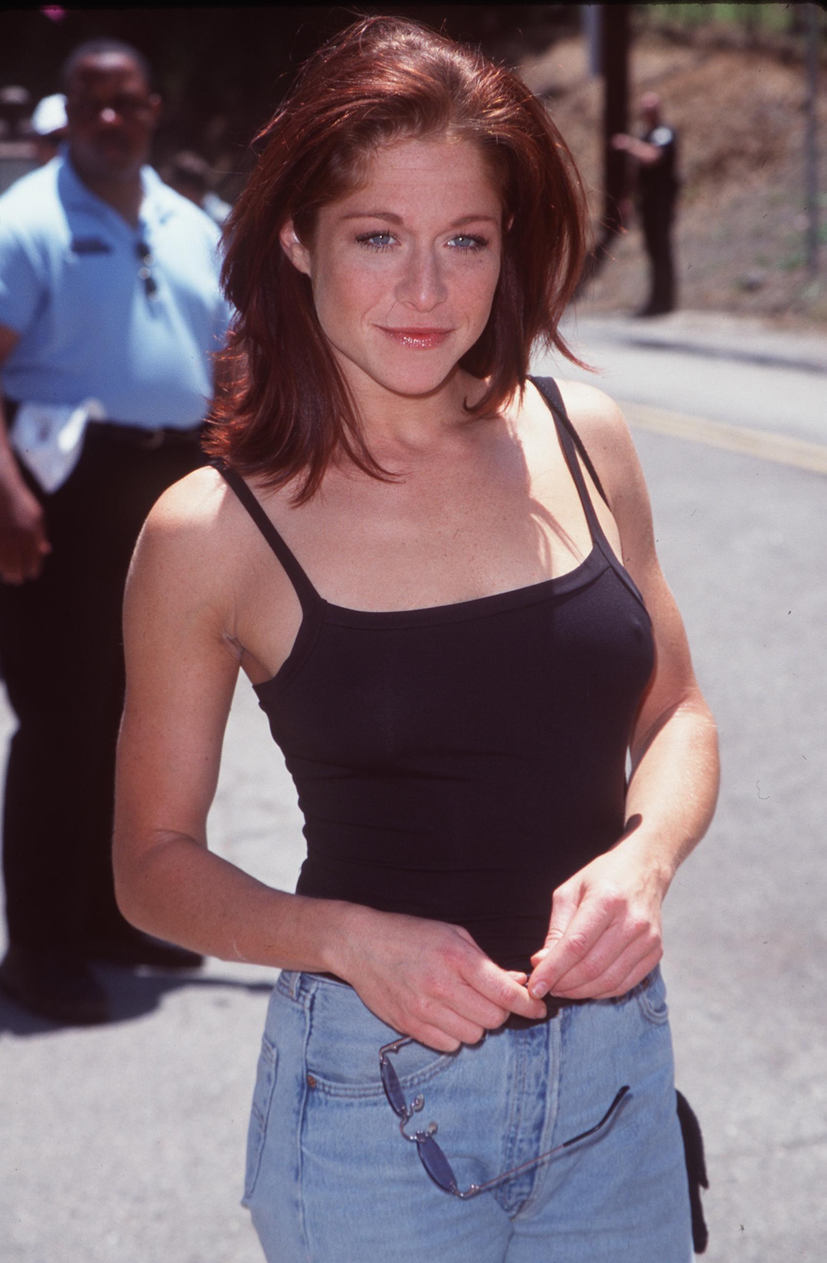 A atriz Jamie Luner na época da série Melrose (Foto: Getty Images)