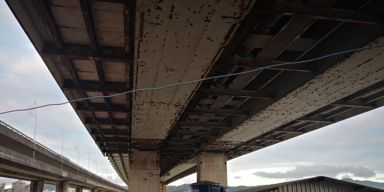 Trabalhos de recuperação das pontes Pedro Ivo e Colombo Salles começam em Florianópolis