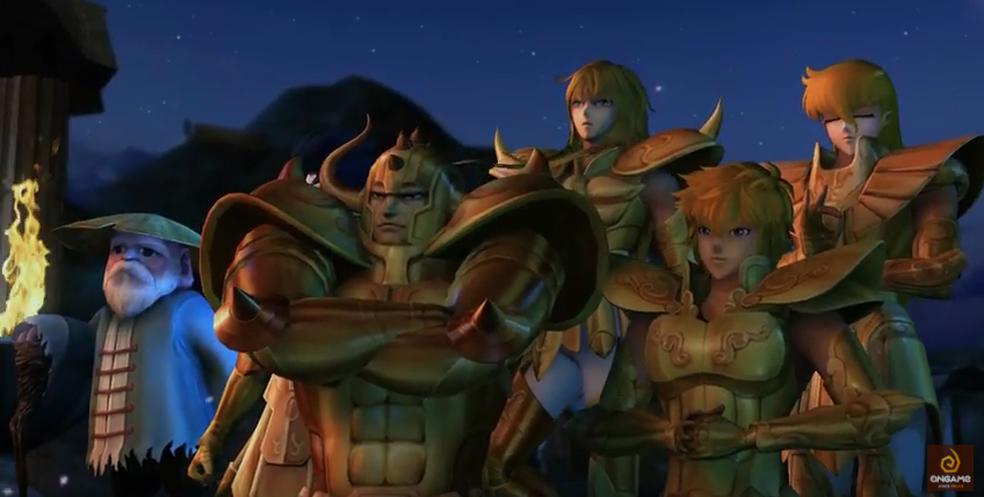 Cavaleiros do Zodíaco - Saint Seiya Online terá mais de 100 armaduras (Foto: Reprodução/Felipe Vinha)