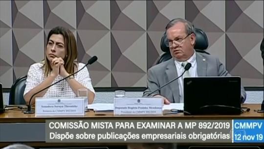 Comissão aprova parecer contrário à MP que desobriga publicação de balanços em jornais