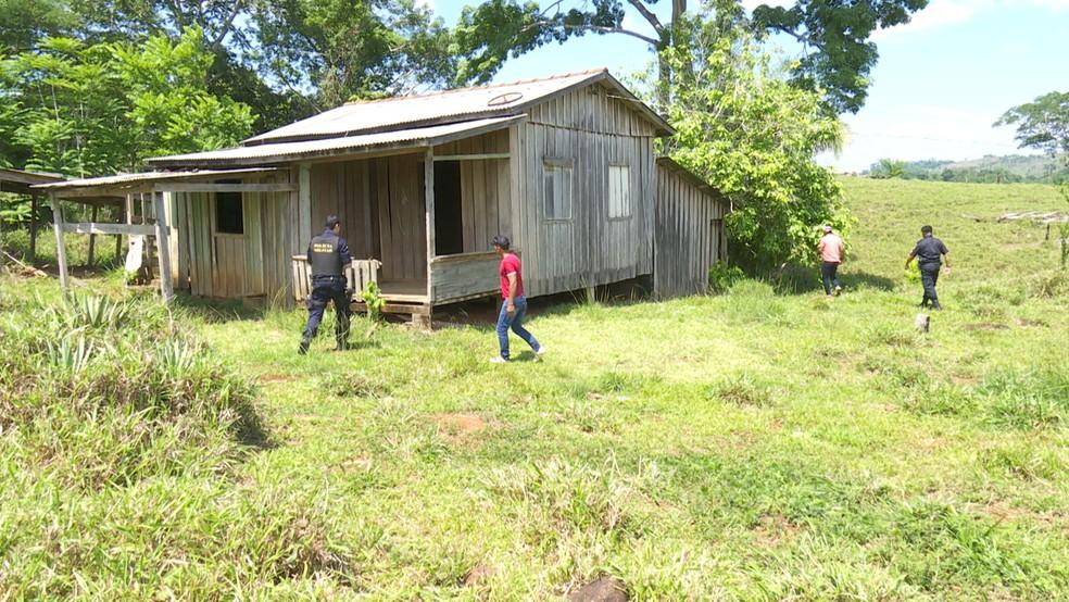 Polícia fez buscas da desaparecida por várias regiões (Foto: Rede Amazônica/Reprodução)