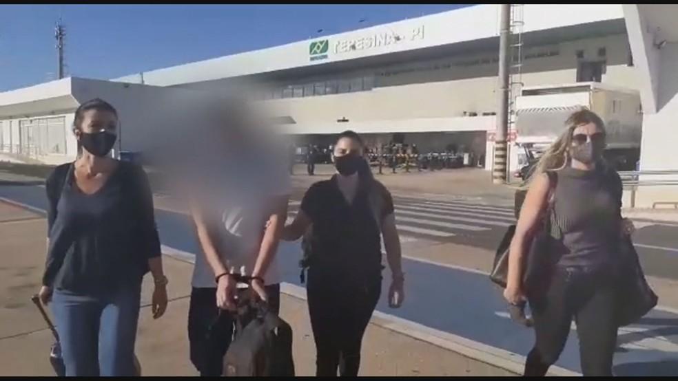 Homem é preso por manter conversas pornográficas com 60 crianças e adolescentes no DF — Foto: Polícia Civil do DF/Divulgação