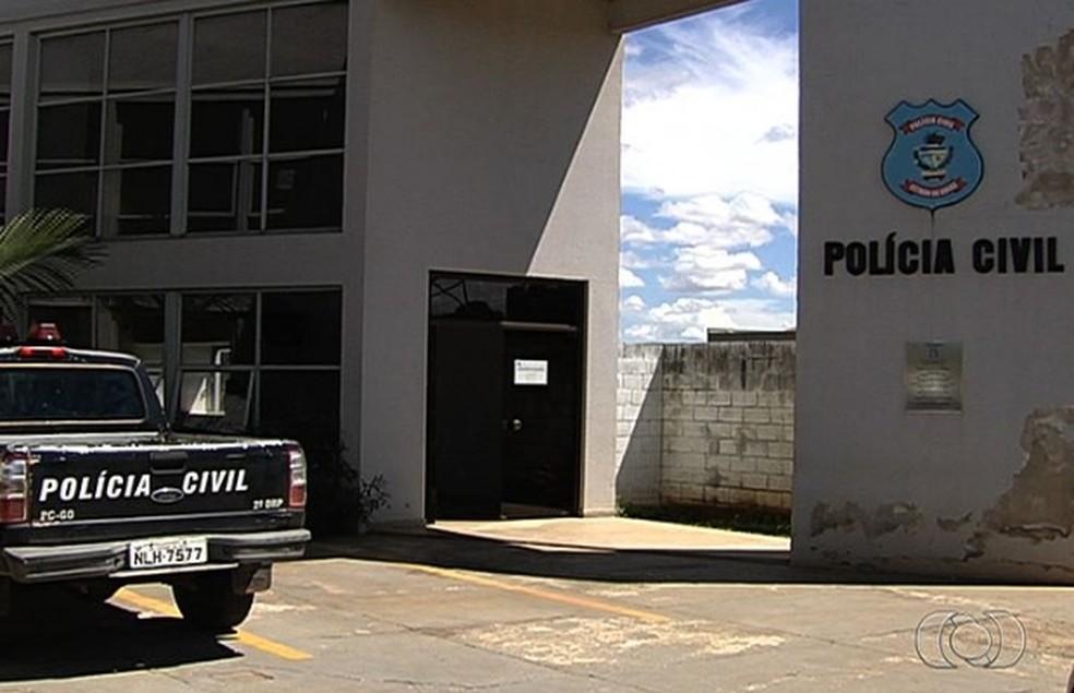 Caso será investigado pela DPCA de Aparecida de Goiânia — Foto: Reprodução/TV Anhanguera