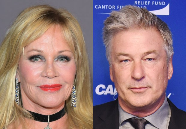 Melanie Griffith e Alec Baldwin  (Foto: Getty Images)