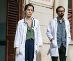 Marjorie Estiano e Julio Andrade, os protagonistas de 'Sob pressão' | Globo/Raquel Cunha