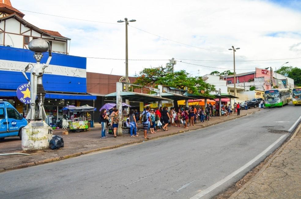 Praça Maria Taquara — Foto: Davi Valle/Prefeitura de Cuiabá