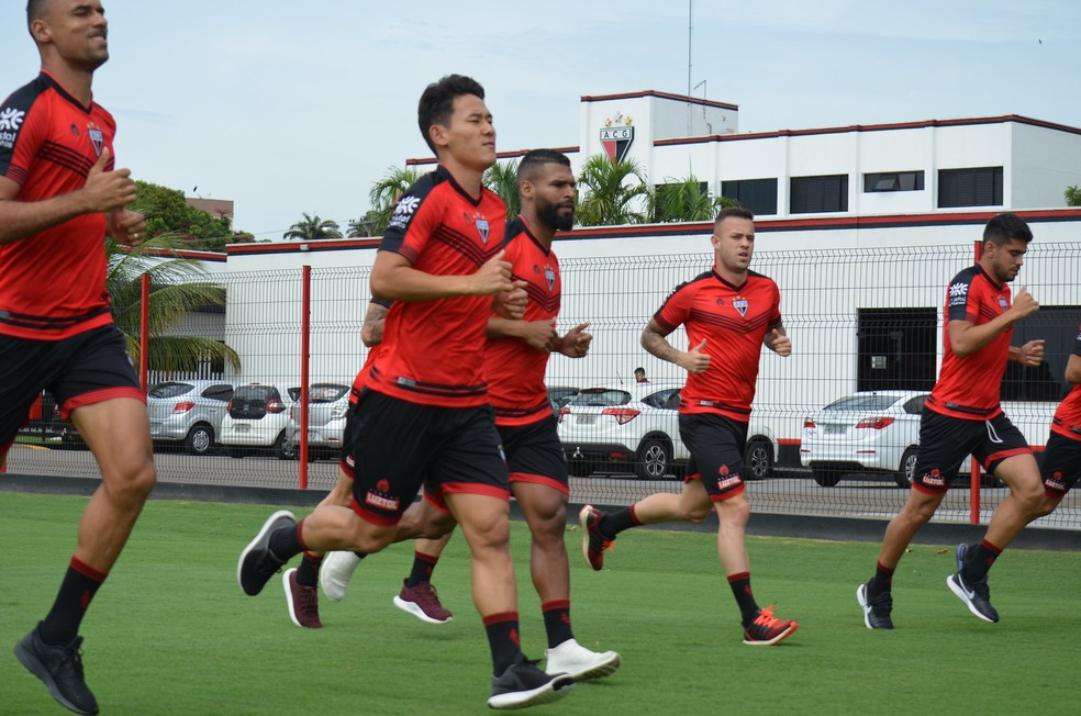 Atlético-GO terá mudanças contra o Vasco — Foto: Comunicação/ACG