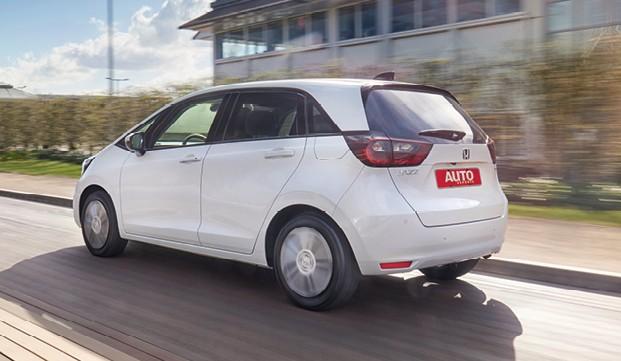Honda FIt (quarta geração) - Quase verde A quarta geração também  tem versões não híbridas (Foto: Divulgação)