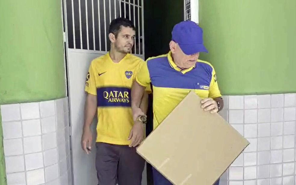 Preso no Recife, falso padre é suspeito de aplicar golpes no Rio de Janeiro — Foto: Reprodução/Acervo pessoal