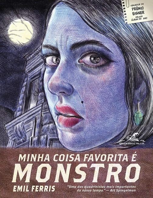 Capa do quadrinho traz a misteriosa Anka (Foto: Cia das Letras)