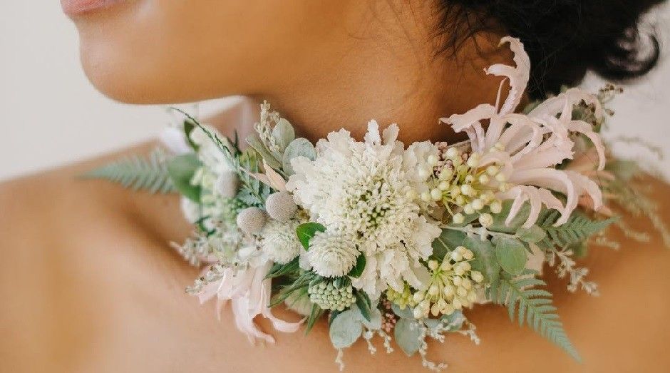 Ornamentos de flores da designer Susan McLeary (Foto: Reprodução)