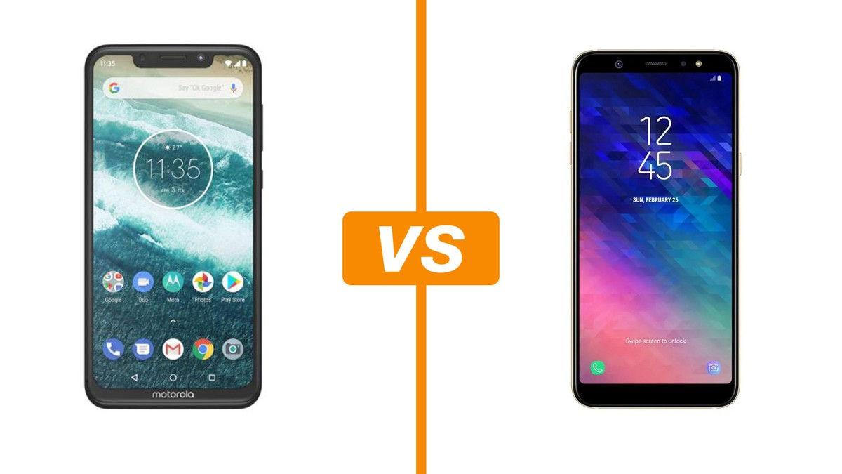 3d773a003 Motorola One vs Galaxy A6 Plus  conheça preço e ficha técnica ...