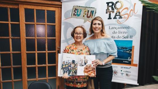 Rosana Valle lança segunda edição do Livro Rota do Sol em Registro