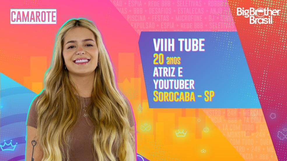 Viih Tube, participante do BBB — Foto: Divulgação