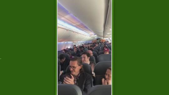 Ivan, goleiro da Ponte Preta, sabe de convocação para a Seleção dentro de avião; veja o vídeo