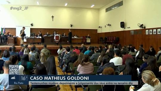 Caso Goldoni: réus são ouvidos e julgamento é suspenso após jurado passar mal em Juiz de Fora