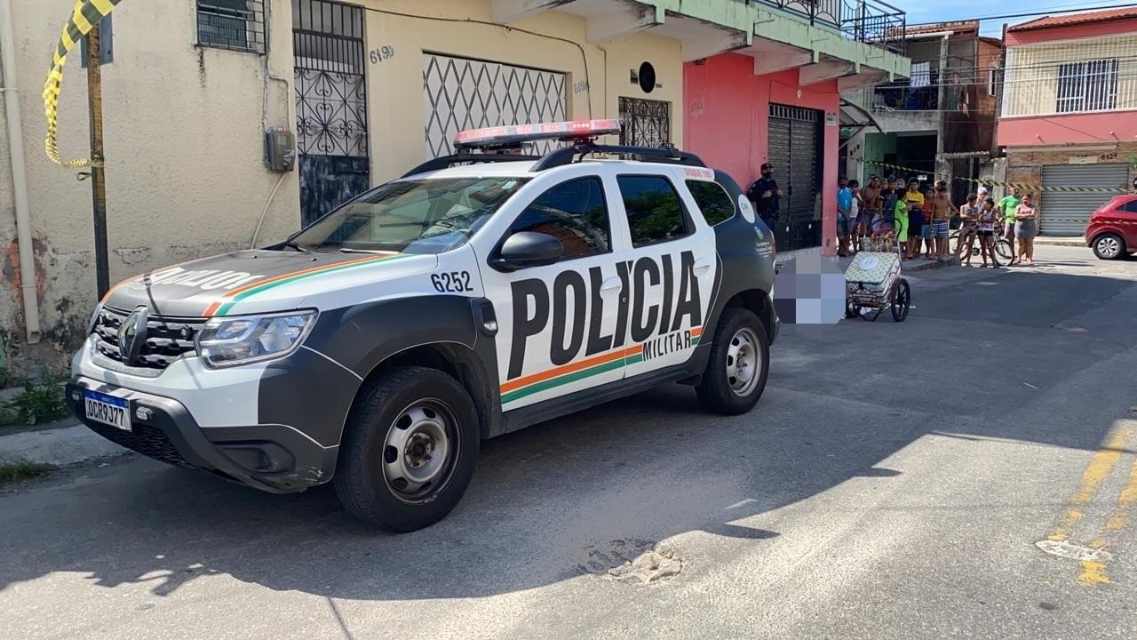 Vendedor de sorvete é morto a tiros em rua de Fortaleza