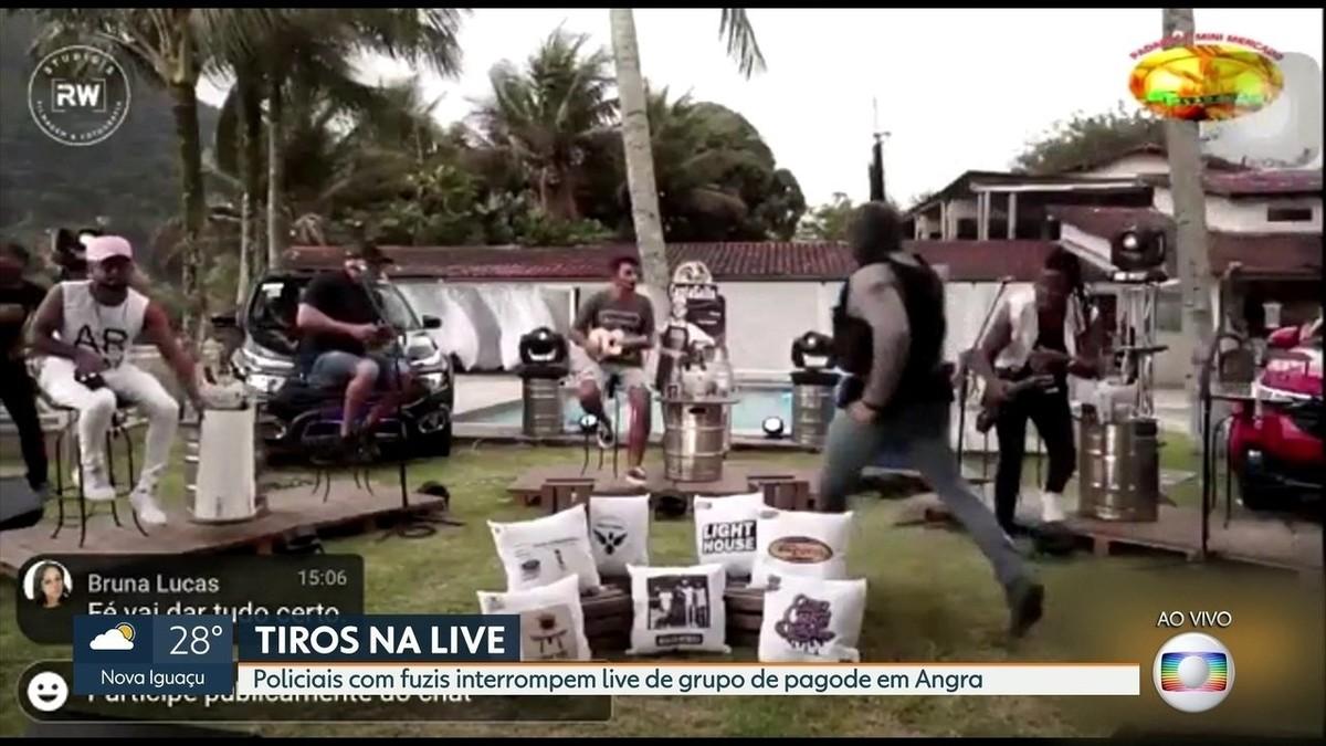PMs participaram de festa de milicianos em Angra dos Reis, diz polícia – G1