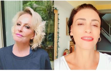 Suzana Pires escreveu na rede social da apresentadora: 'Ana, sua luta também é nossa. Todo amor, carinho e certeza na sua vitória!' Reprodução/Instagram