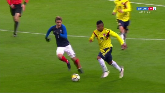 Melhores momentos de França 2 x 3 Colômbia em amistoso internacional