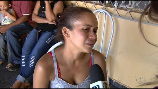 Mãe chora a morte de bebê atropelada por caminhão em Goiânia: 'Não tive como salvar minha filha'