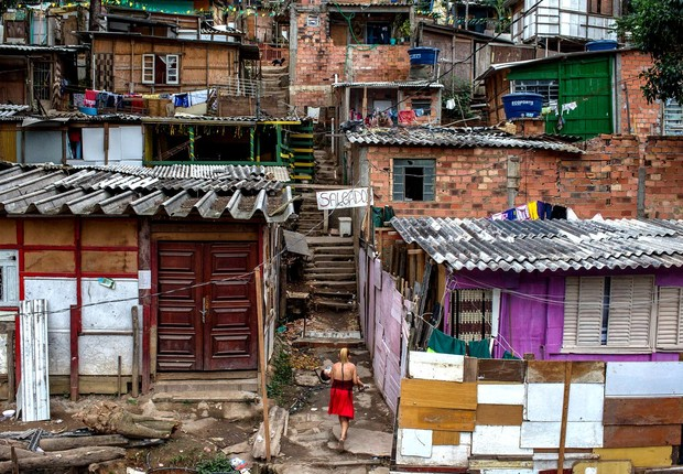 Jardim Peri, São Paulo: Redução da desigualdade no Brasil é interrompida pela 1ª vez em 15 anos (Foto: Victor Moriyama/Getty Images)