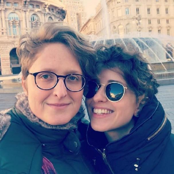Carol Duarte e a namorada (Foto: Instagram/Reprodução)