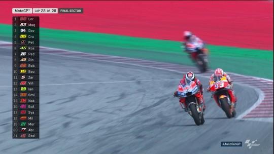 Jorge Lorenzo vence o GP da Áustria de MotoGP