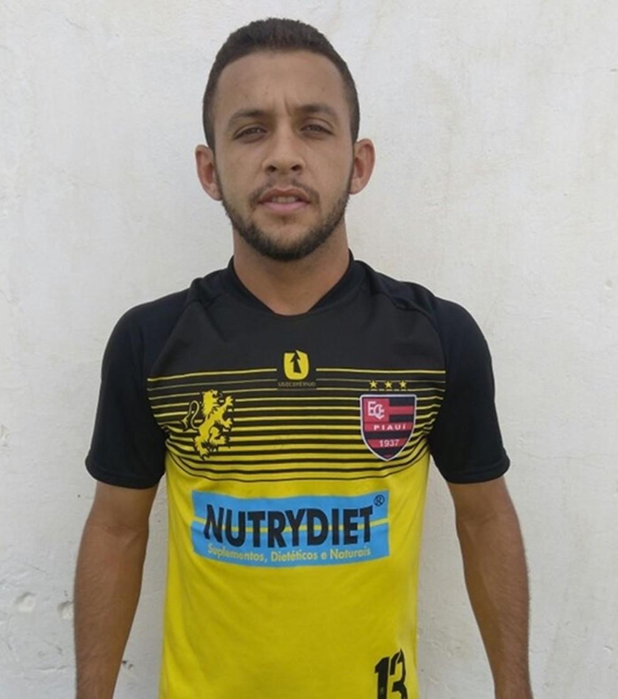 Paulinho Cearense atuou no Flamengo-PI em 2017 — Foto: Divulgação / Flamengo-PI