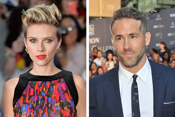 Scarlett Johansson e Ryan Reynolds (Foto: Getty Images)
