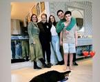 Filho de Faustão posta foto da família reunida no aniversário da mãe | Reprodução Instagram