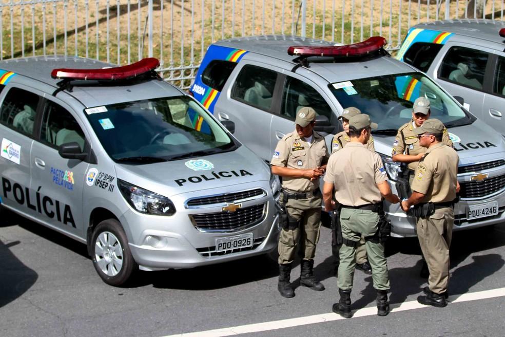Concurso tem mais de 500 vagas para a Polícia Militar de Pernambuco (Foto: Marlon Costa/Pernambuco Press)