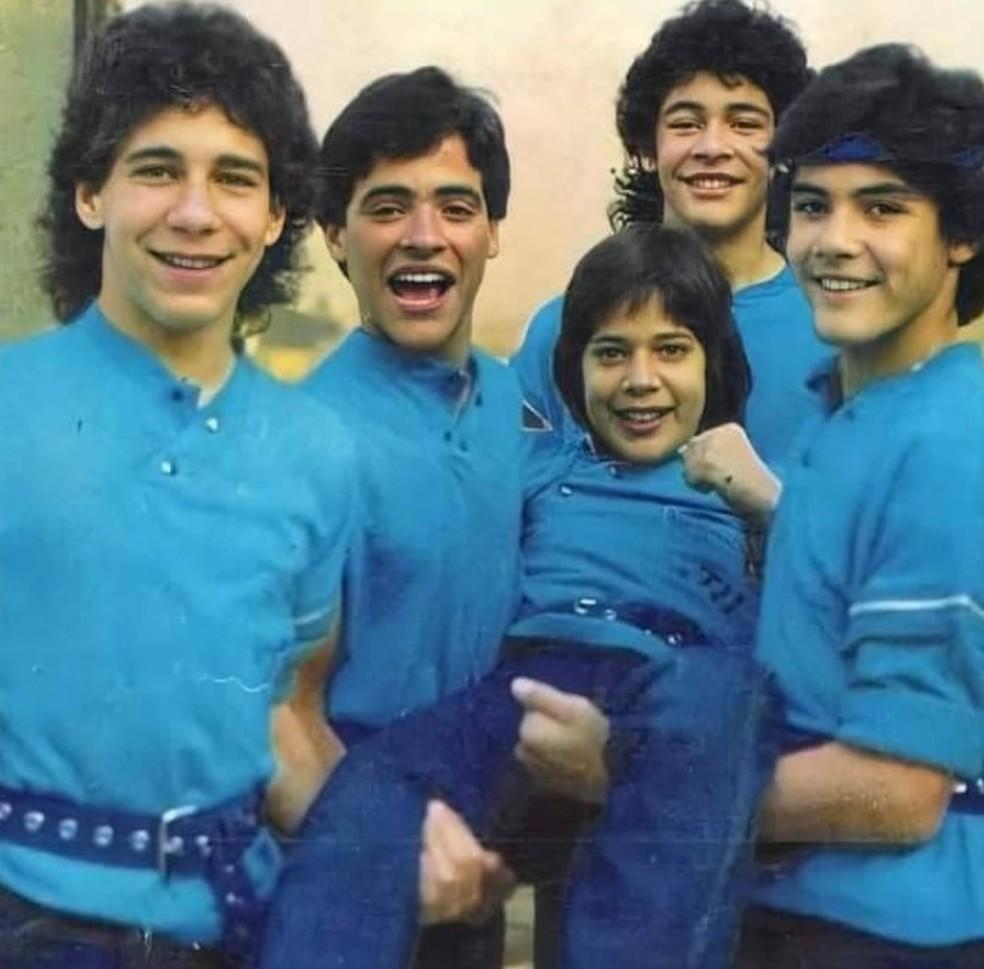Ray Reyes entrou Menudo em 1983, substituindo Xavier Serbiá, e fez parte da fase de maior sucesso do grupo, em meados dos anos 1980 — Foto: Reprodução/Facebook