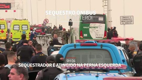 Do sequestro até a morte do suspeito: como foi a manhã tensa no Rio