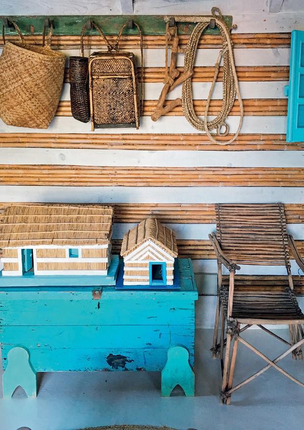 Detalhe de um dos cômodos da casa da arquiteta (Foto: Carlos Souza e Charlene Shorto)