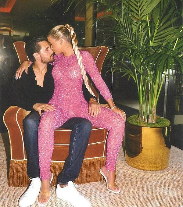 Scott Disick e Sofia Richie (Foto: Instagram)