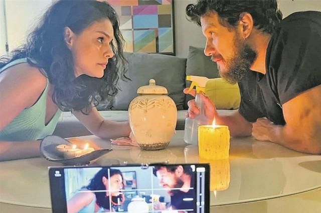 Paloma Bernardi e  Eduardo Pelizzari (Foto: Arquivo pessoal)