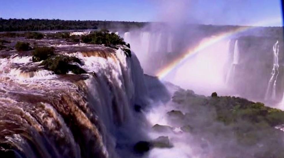 Parque Nacional do Iguaçu foi reaberto ao público no dia 4 de agosto — Foto: Zito Terres/RPC