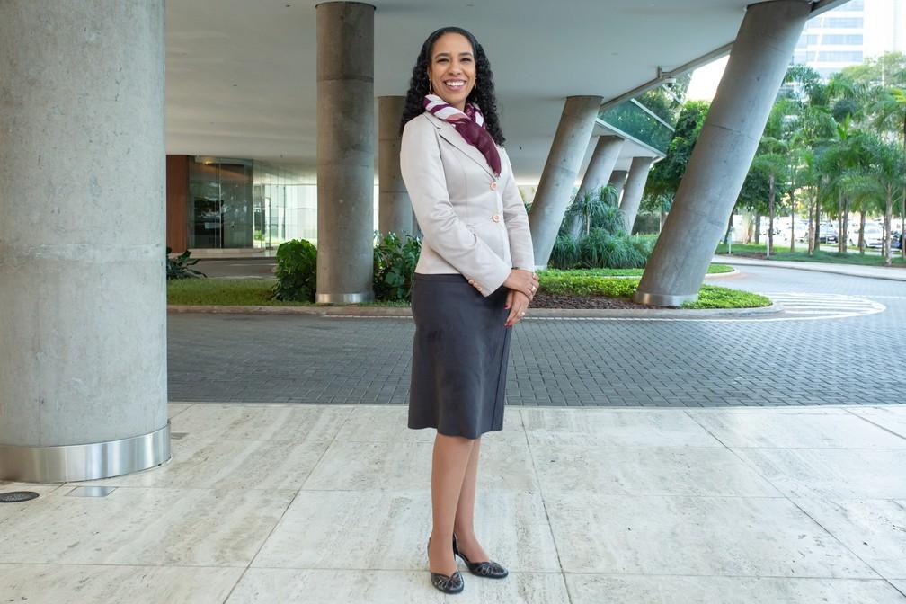 Roberta Anchieta vê como positivo o aumento do espaço para discussões sobre inclusão — Foto: Celso Tavares/G1