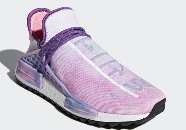 Pharell x adidas NMD Hu Trail Holi Pink Glow  (Foto: Reprodução)