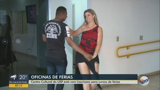 Centro Cultural da USP oferece 400 vagas gratuitas em cursos de férias em São Carlos