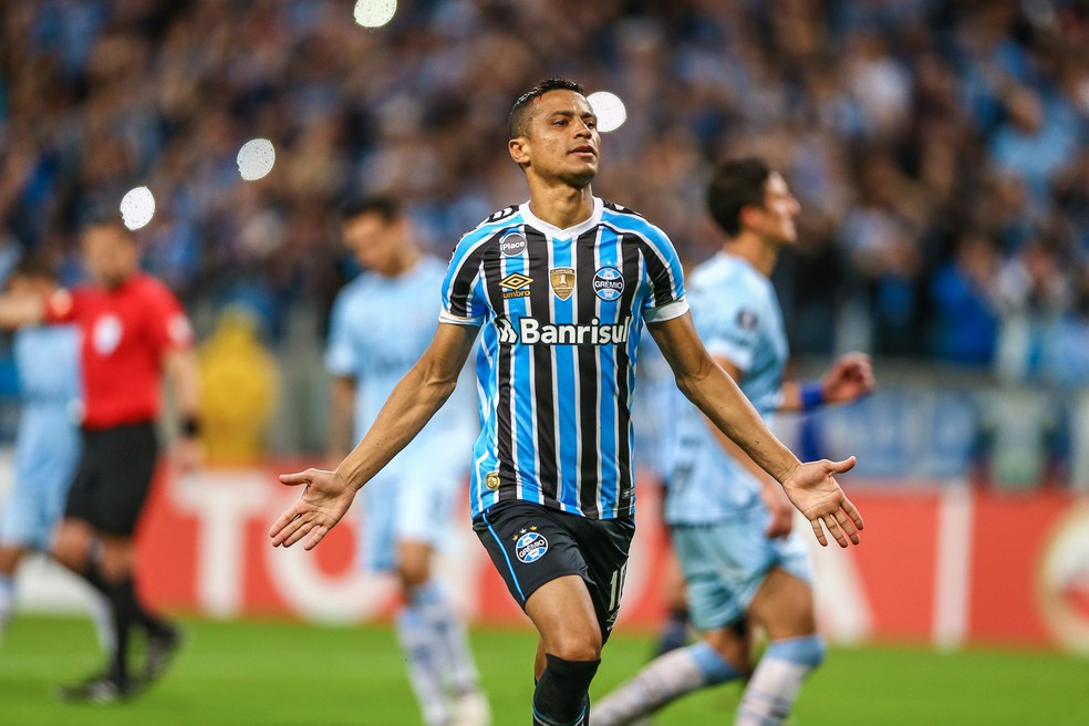 Cícero não chegou a um acerto com o Grêmio — Foto: Lucas Uebel / Grêmio, DVG