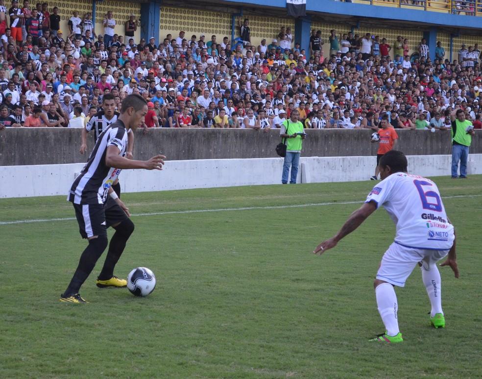 Atacante Tiago vai disputar a Segundinha pelo São Raimundo — Foto: Dominique Cavaleiro/ge
