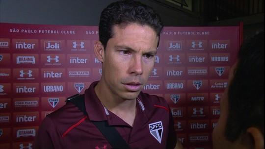 Hernanes diz que vitória sobre o Flamengo não é sinal de amadurecimento
