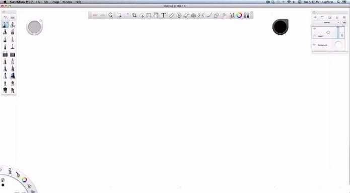 Autodesk SketchBook permite criar desenhos no Mac (Foto: Divulgação)