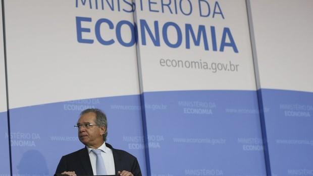 O ministro da Economia, Paulo Guedes (Foto: José Cruz/Agência Brasil)
