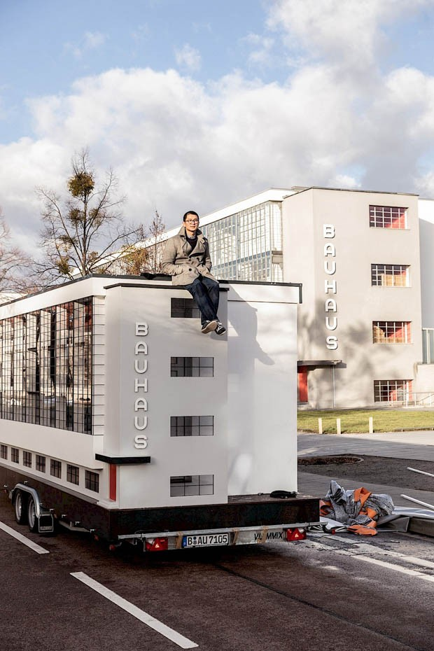 Ônibus inspirado em Bauhaus fará tour em homenagem a centenário (Foto: Divulgação )