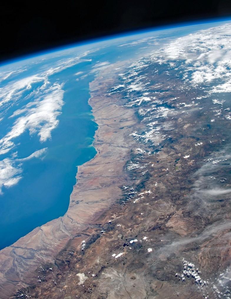 Litoral do Oceano Pacífico na América do Sul (Foto: Stuart Rankin/Flickr/CC 2.0)
